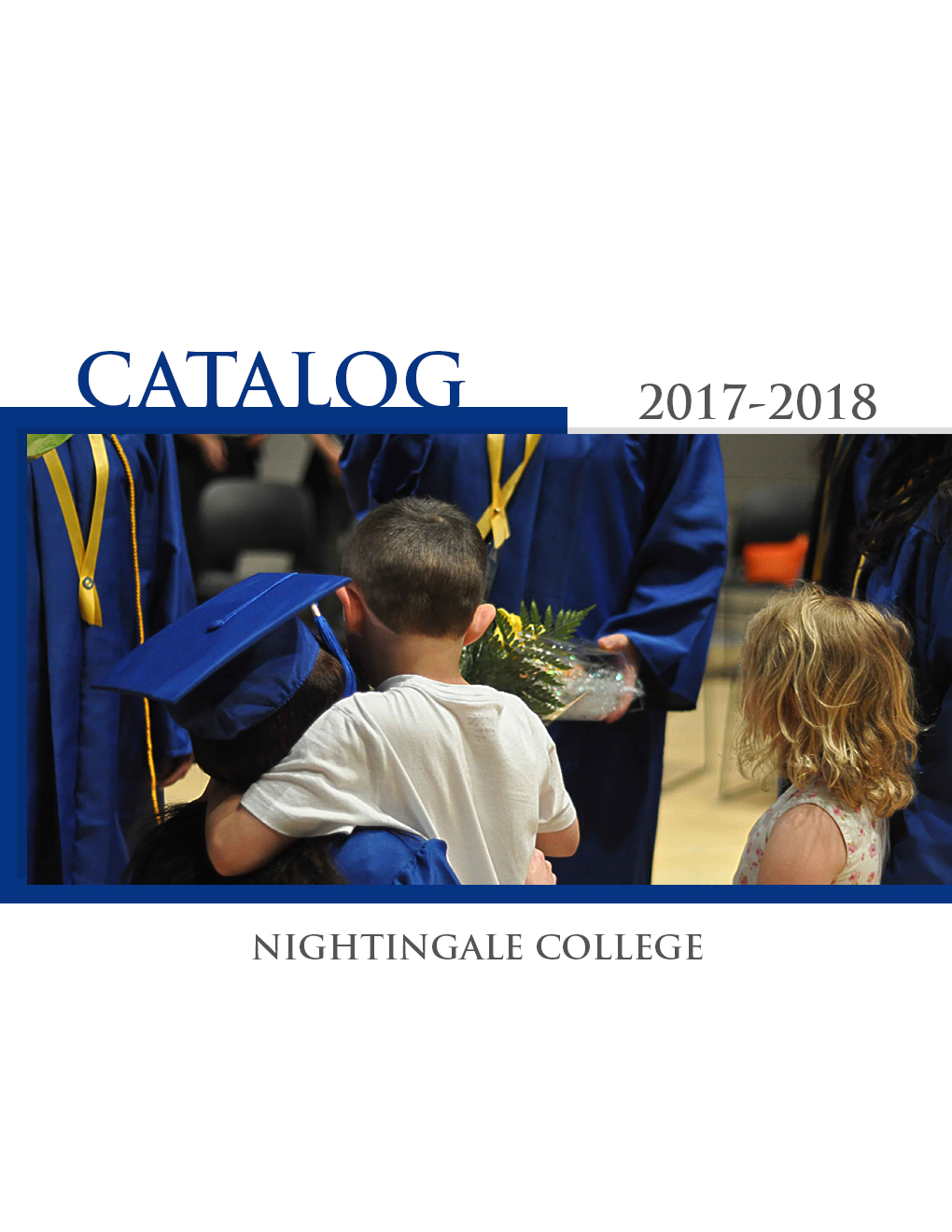 College Catalog Front Cover 2017-2018